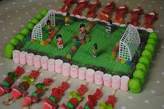 LOS DETALLES DE BEA: Un cumple de fútbol!!