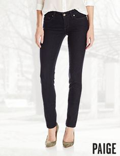 PAIGE Women's Skyline Skinny Jean in Twilight