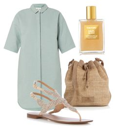 """sand beach"" by winkeleninnederland on Polyvore featuring mode en Tom Ford"