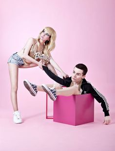 Barbie & Ken If They Were Created Today
