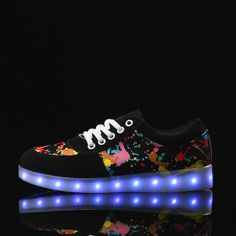 A3088 Colorful Led Sneakers For Adults