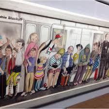 Image result for nyc subway art