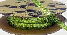 Making Memories - Toil  Trouble Collection Ribbon Spool Green. Sale ends 7/16/12!