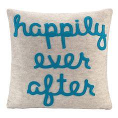 Happily Ever After Pillow /Alexandra Hedin