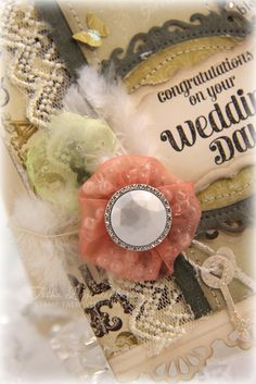 Tutorial ~ Stuffed Organza Yo-yo Flower by Tosh