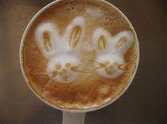 Did some bunny order a latte? Cappuccino Art, Coffee Latte Art, I Love Coffee, Coffee Break, Best Coffee, Coffee Shop, Coffee Coffee, Coffee Lovers, Milk Art