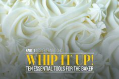 Dessert Table Chic: Whip It Up! 10 tools you need to create fabulous desserts #eBayGuides #spon