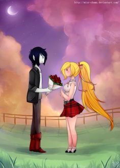 Mashall: I love fionna will u go out with me Fionna;*speckles* Fiolee