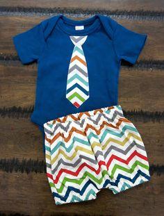 Boy bodysuit /Organic boy shorts / Organic Baby Clothes /