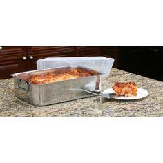 Cookpro 531 4Pc Stainless Steel Roaster Lasagna Pan Roaster >>> Continue to the product at the image link.