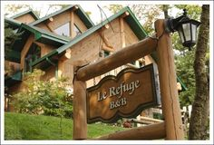 La Refuge Bed and Breakfast is one of Mont Tremblant's hidden secrets, offering superior lodging in 5 uniquely decorated rooms each with stunning views of Mont-Tremblant, Quebec.