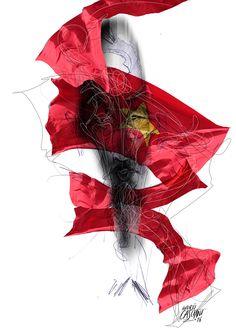 """""""Los hijos de los días"""" - Galeano ilustrado por Casciani 7/5 - acá podés leer el texto:http://andrescasciani.blogspot.com.ar/2016/05/los-hijos-de-los-dias-galeano-ilustrado_7.html"""