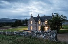 The Killiehuntly Farmhouse in the Cairngorms National Park, Scotland Scotland Hotels, Scotland Trip, World Most Beautiful Place, Cairngorms National Park, True Homes, Highland Homes, European Home Decor, Lodge Style, Houses