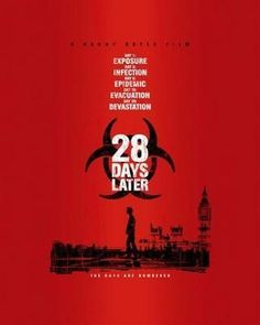 28 Days Later Movie Poster 24in x36 in