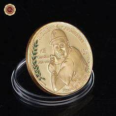 If life is like a box of chocolates then this Gold Roberto Clem... is like fine wine.. Get yours today!! http://mycicret.info/products/gold-roberto-clemente-silver-challenge-coin-1955-mlb-2010-puerto-rico-baseball?utm_campaign=social_autopilot&utm_source=pin&utm_medium=pin