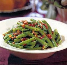 Green Beans with Bacon and Shallots / Noel Barnhurst