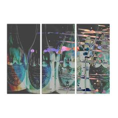 Dom P Triptych