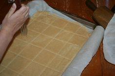 Grain free, GAPS legal graham crackers