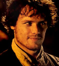 gorgeous, smiling Jamie  #Outlander  1.03  The Way Out