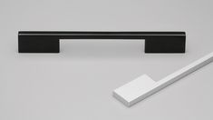 Sydney Handle Sydney cabinet handle - Matte Black anodized finishSlick modern handle. Ideal for contemporary designs including wardrobes, kitchens and general cabinetry.
