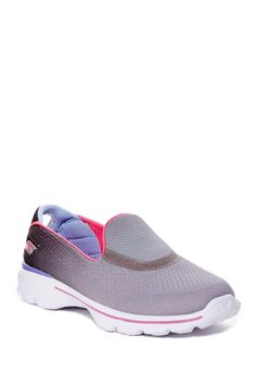 6273001114845 Go Walk 3 Slip-On Sneaker (Little Kid   Big Kid)