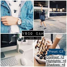 Instagram photo by filters.vsco - Bright filter that gives picture a nice, warm look. It looks good on pictures with bright colours, as well as mostly black ones. However, the shadows don't look good on all pics so you can lower them to about +3 or whatever else works for you.