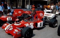1972 March 721X - Ford (Niki Lauda)