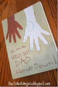 Father's Day Ideas - actual artwork you can put on the wall. (20 family-points.com - family unity, service) by tania