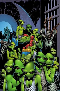 MARTIAN MANHUNTER #34