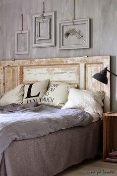 Idées de création des têtes-de-lits avec de la récup'