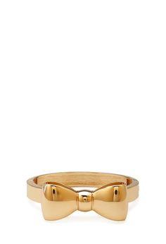 Bow Hinge Bracelet #Accessories