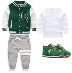 sporty style – Baby For look here Toddler Boy Fashion, Little Boy Fashion, Toddler Boy Outfits, Toddler Boys, Kids Fashion, Baby Boys, Baby Boy Swag, Kid Swag, Little Boy Outfits