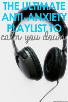 Having a really bad anxiety day? Put on this ultimate anxiety playlist to help calm you down during those days that are just so unbearable.