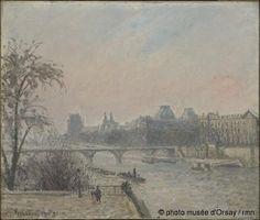 La Seine et le Louvre, 1903. Musée d'Orsay,Paris.