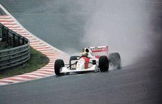Ayrton Senna McLaren - Honda Spa 1992