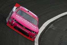 Elliott Sadler, driver of the #1 OneMain Chevrolet, drives during practice for the NASCAR XFINITY Series Drive for the Cure 300 at Charlotte Motor Speedway on October 6, 2016 in Charlotte, North Carolina.