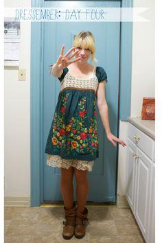 day 4! #dressember
