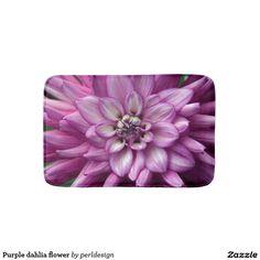 Purple dahlia flower