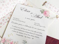 convite de casamento classico - Pesquisa Google