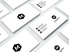 Creative Business Card - 3 by MustaART on @creativemarket