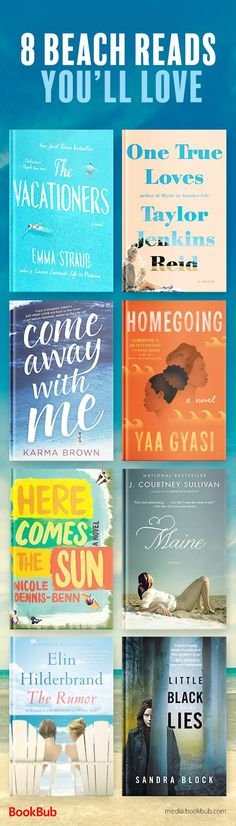8 beach reads worth reading. These great books are worth adding to your summer 2017 reading list.