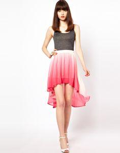Goldie London - Goldie Dip Dyed Skirt
