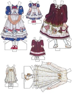 Delaney--I made a Raggedy Ann dress like this for my daughter when she was little!