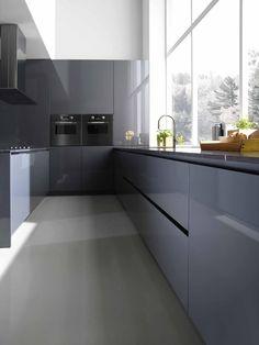 Cucina Binova Pura 45 Kitchen Interior, Kitchenware, Sweet Home, Kitchen Cabinets, House Design, Dali, Interior Design, Kitchens, Villa