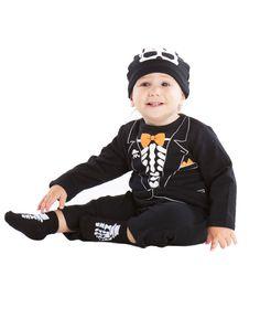 Skeleton Tux Baby Costume – Spirit Halloween