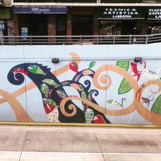 Peces. Federico Lacroze. Colegiales. Buenos Aires. #Mural #paredesquehablan