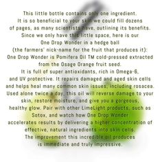 One Drop wonder is simply amazing!!! It's uses are endless!!  www.facebook.com/NikkiIncLimeLight      www.LimeLightbyAlcone.com/NikkiInc