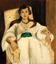 Henri Matisse (1869-1954) Femme au fauteuil