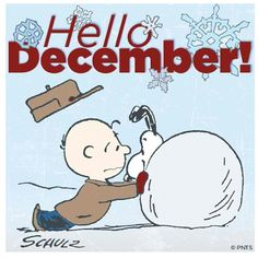 December & Snoopy [Charlie Brown]
