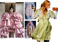 Fashion trends AW 16/17: back to history #fashion #trends #aw16 #aw17 #ruffles #dandy #corset
